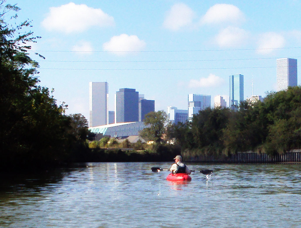 Houston Skyline from Buffalo Bayou