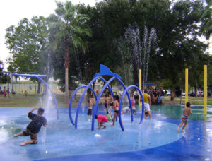 Water Playground, Hidalgo Park, Houston, Texas
